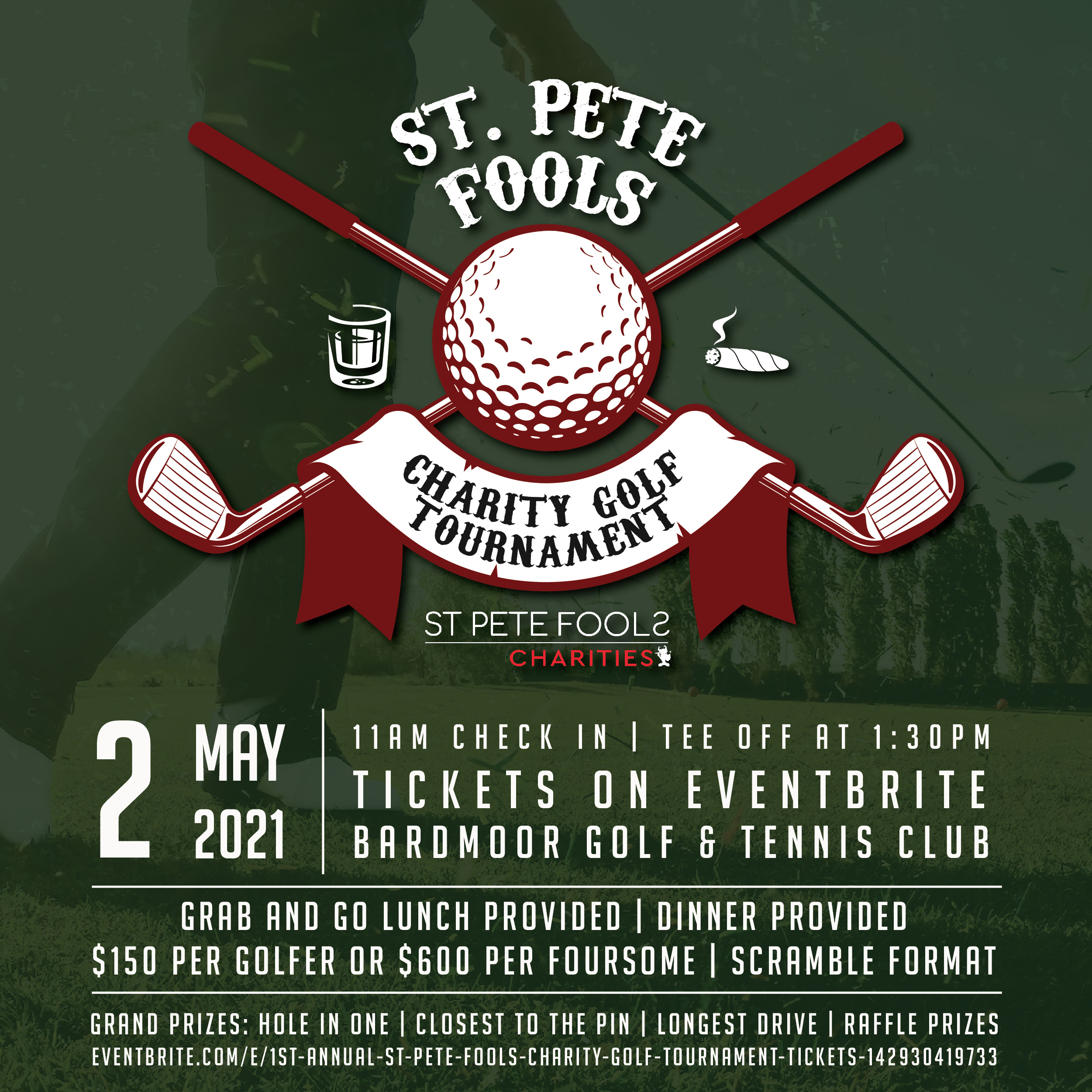 St. Pete Fools Charity Aspires to Raise $20,000 at First Annual Golf Tournament