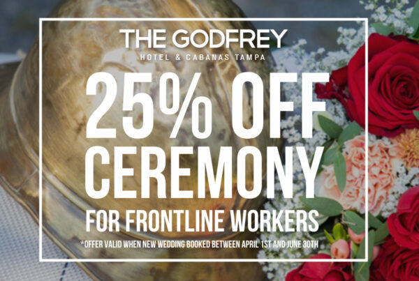 godfrey hotel tampa weddings evolve & co tampa bay frontline workers