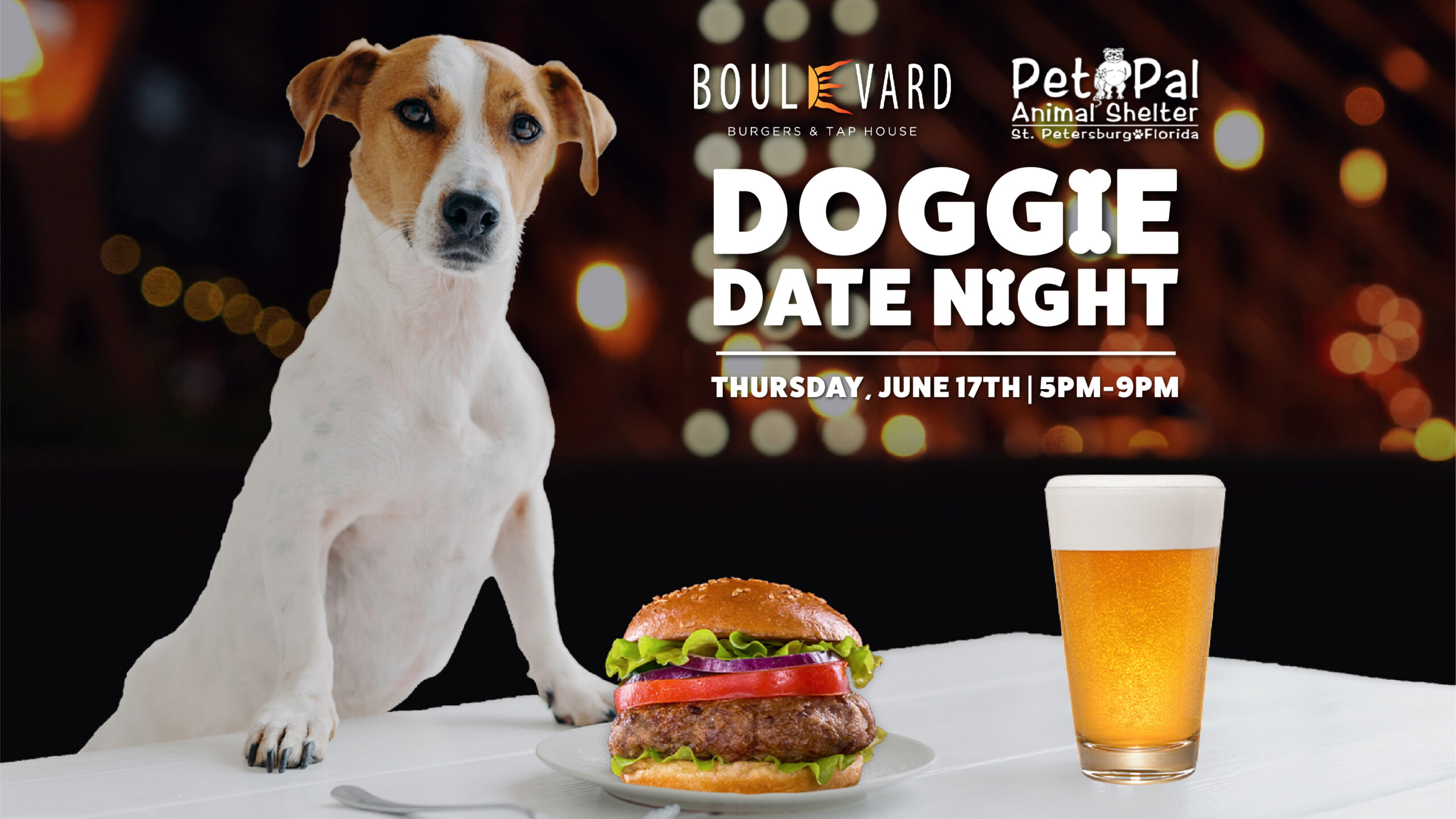 """St. Pete Beach Restaurant Partners with Pet Pal Animal Shelter for """"Doggie Date Night"""""""